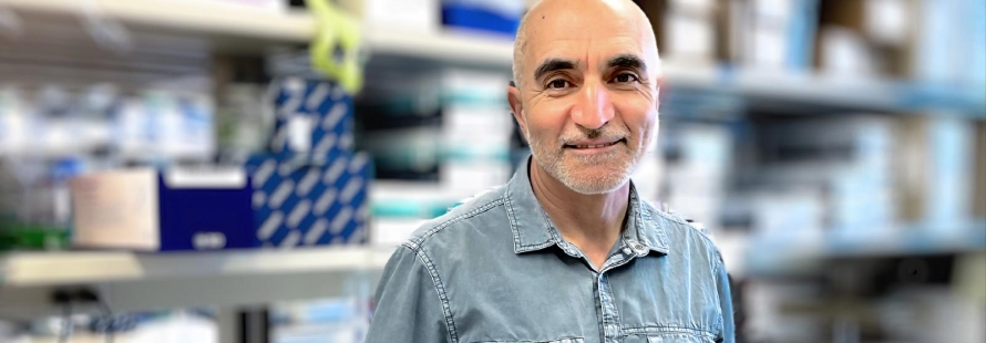 Shokrollah Elahi led new research that sheds light on why many COVID-19 patients have low levels of oxygen in their blood, and why the anti-inflammatory drug dexamethasone works to treat the potentially dangerous condition. (Photo: Faculty of Medicine & Dentistry)