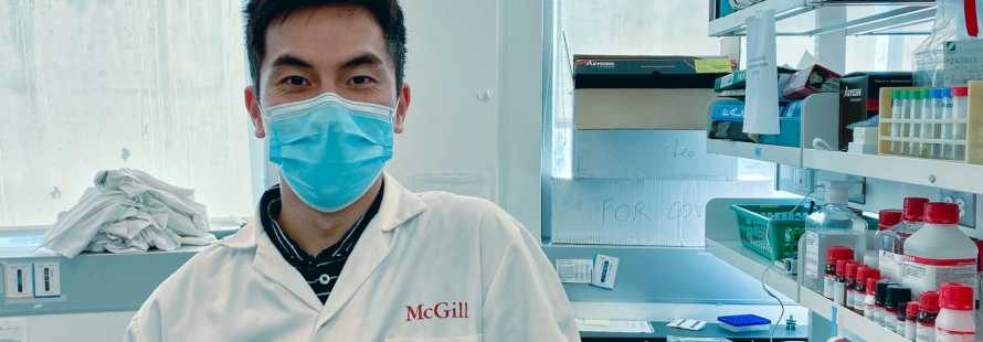 Three graduate students who helped make the new made-at-McGill COVID-19 test kits from scratch learned a lot about science – and about themselves